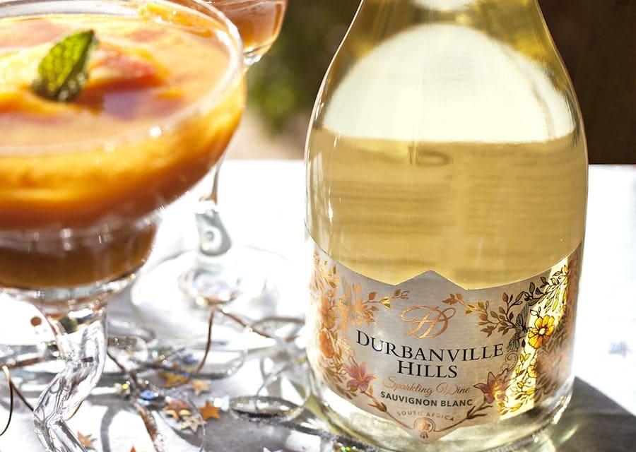 New Year's Eve Sparkling Sauvignon Slushies